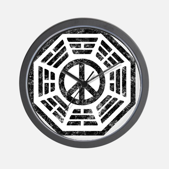 Dharma Peace Wall Clock