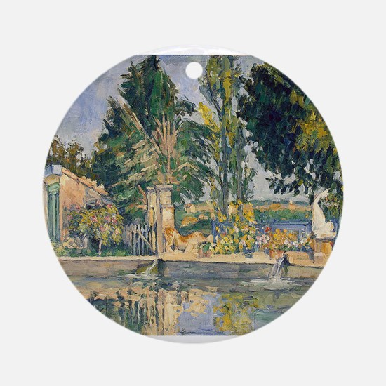 paul cezanne Ornament (Round)