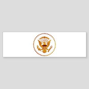 Gold Presidential Seal Sticker (Bumper)
