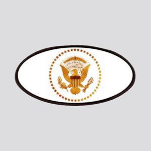Gold Presidential Seal Patch
