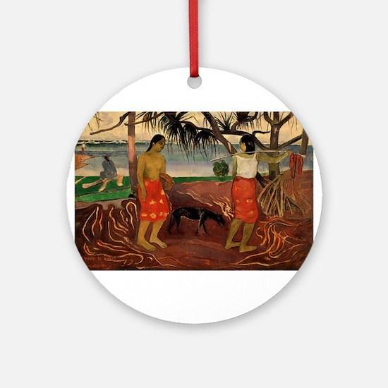 paul gauguin Ornament (Round)