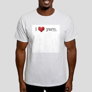 I heart yarn Ash Grey T-Shirt