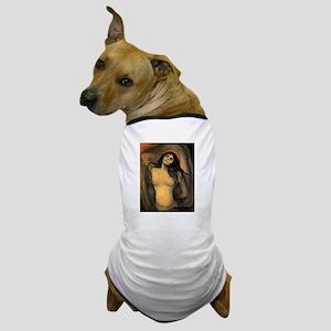 edvun munch Dog T-Shirt