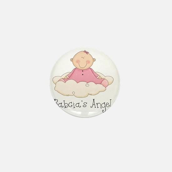 babcias angel girl Mini Button