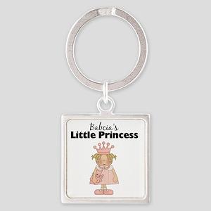 little princess 2 Square Keychain