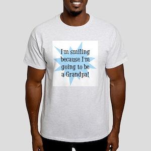Going to be a Grandpa Ash Grey T-Shirt