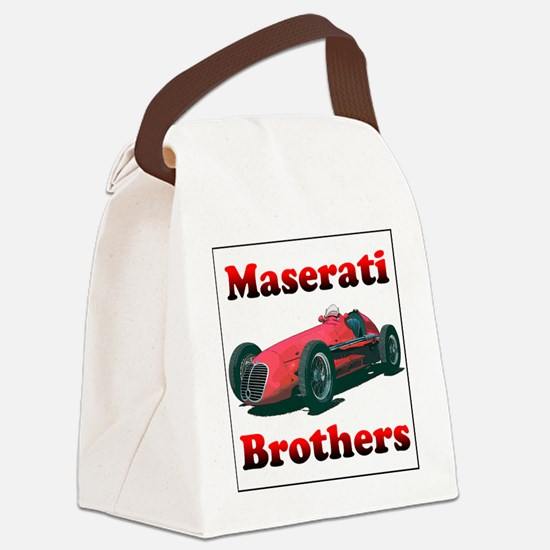 Maserati4CLT-4 Canvas Lunch Bag