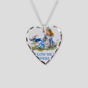 ALICE_BLUE_FOLLOW ME_BLUEx co Necklace Heart Charm