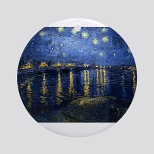 vincent van gogh Ornament (Round)