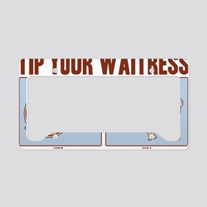 tipping-2-LTT License Plate Holder