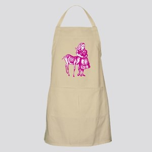 Alice with Fawn Pink Apron