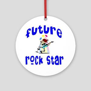Future Rock Star Ornament (Round)
