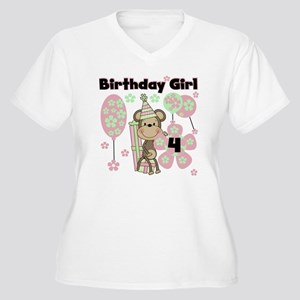 monkflower4 Women's Plus Size V-Neck T-Shirt