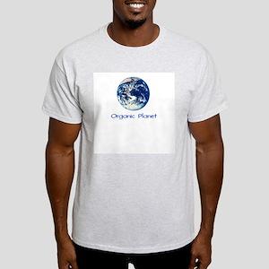 Organic Planet Ash Grey T-Shirt