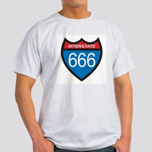 Interstate 666 Light T-Shirt
