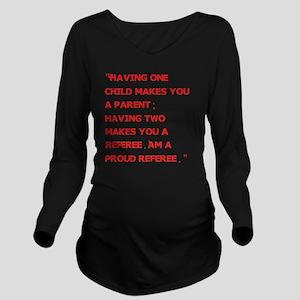 parents Long Sleeve Maternity T-Shirt