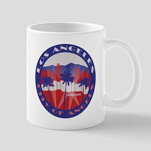 LA City of Angels patriot 4in Mugs