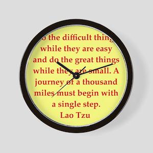 laotzu14 Wall Clock