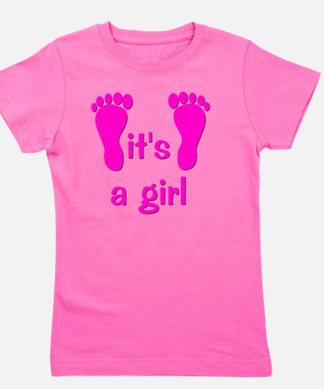 feet_itsagirl Girl's Tee