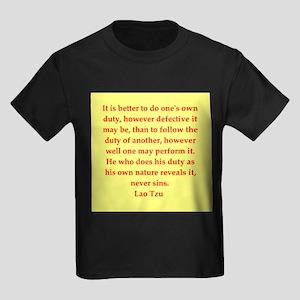 laotzu117 Kids Dark T-Shirt