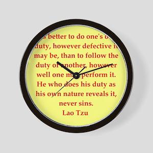 laotzu117 Wall Clock