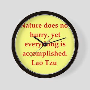 laotzu126 Wall Clock