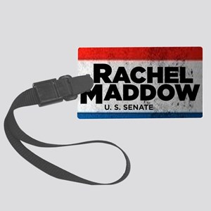ART Sticker Rachel Maddow for Se Large Luggage Tag