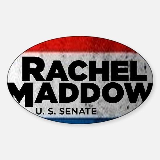 ART Sticker Rachel Maddow for Senat Sticker (Oval)