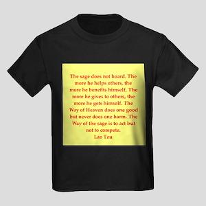 laotzu1142 Kids Dark T-Shirt