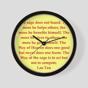 laotzu1142 Wall Clock