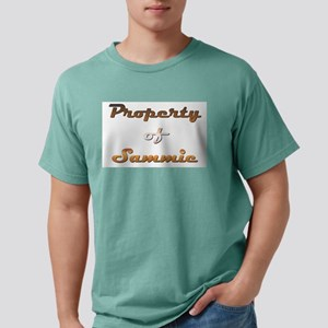 Property Of Sammie Male Mens Comfort Colors Shirt