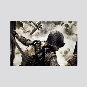 2-Airborne.moh.mousepad Rectangle Magnet