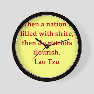 laotzu1155 Wall Clock
