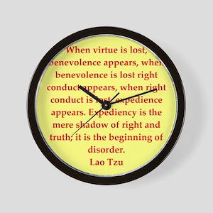 laotzu1158 Wall Clock