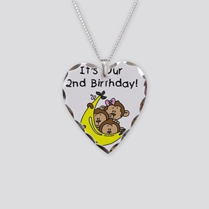 monktrip2ndbday2 Necklace Heart Charm