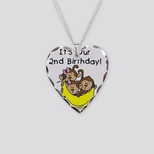 monktrip2ndbday Necklace Heart Charm