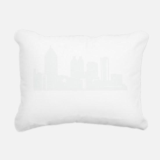 atlanta1Bk Rectangular Canvas Pillow