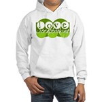 Love Scrapbooking - green Hooded Sweatshirt