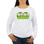 Love Scrapbooking - green Women's Long Sleeve T-Sh