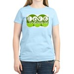 Love Scrapbooking - green Women's Pink T-Shirt