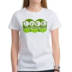 Love Scrapbooking - green Women's T-Shirt
