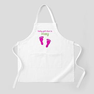 pinkfeet_babygirlduein_may_green Apron