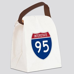 Highway95Invert Canvas Lunch Bag