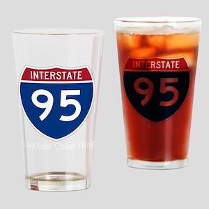 Highway95Invert Drinking Glass