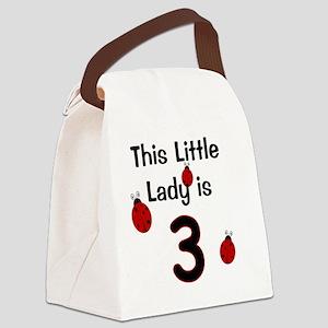 thislittleladyis_3 Canvas Lunch Bag
