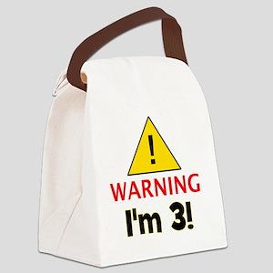 warningim3 Canvas Lunch Bag