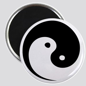 2-yinyang_hat Magnet