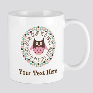 Personalized Book Club Is A Hoot Mugs