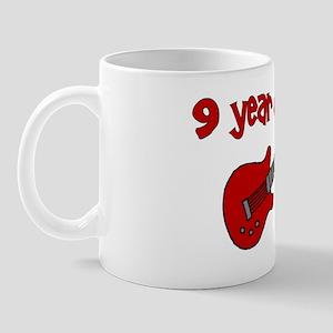 9yearoldsrock_redguitar Mug