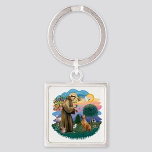 The Saint - Rhodesian Ridgeback (# Square Keychain
